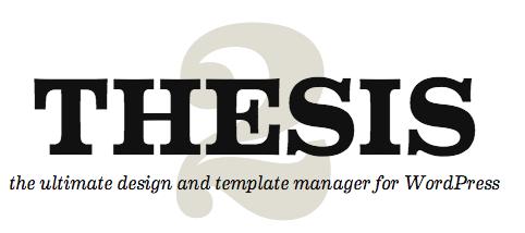 thesis theme developer option add on