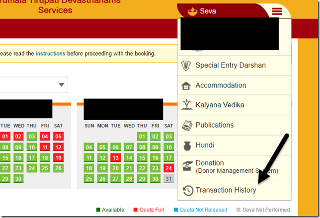 Summary -> Ttd Online Booking Rooms Darshan Sevas Tirupati